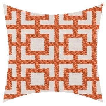 James Dunlop Pegasus Mykanos Coral Outdoor Cushion