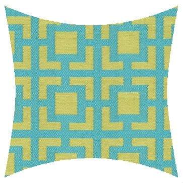 James Dunlop Mykonos Melon Outdoor Cushion