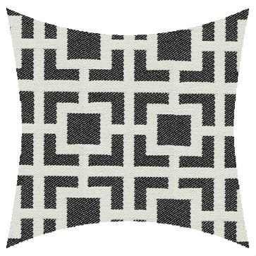 James Dunlop Mykonos Ouzo Reversed Outdoor Cushion