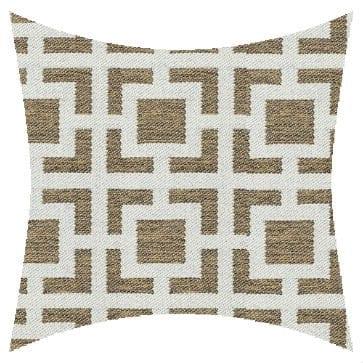 James Dunlop Mykonos Rattan Reversed Outdoor Cushion