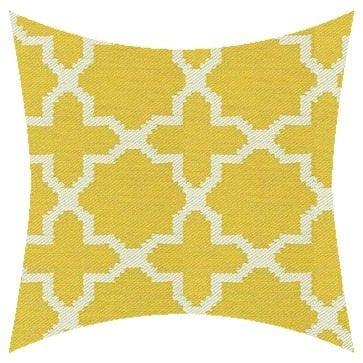 James Dunlop Pegasus Santorini Citrus Outdoor Cushion