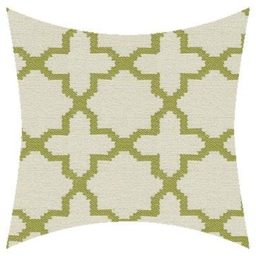 James Dunlop Pegasus Santorini Lime Reversed Outdoor Cushion