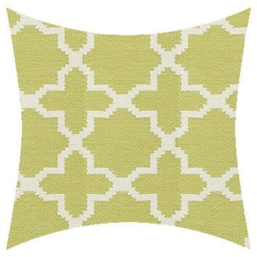 James Dunlop Pegasus Santorini Lime Outdoor Cushion
