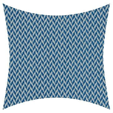 James Dunlop Pegasus Vidos Azure Outdoor Cushion