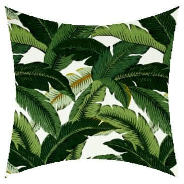 Tommy Bahama Island Hopping Emerald Outdoor Cushion