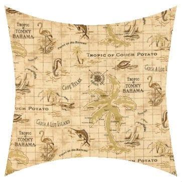 Tommy Bahama Island Song Rattan Outdoor Cushion