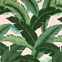 Tommy Bahama Indoor/Outdoor Swaying Palms Isla Pink Capri