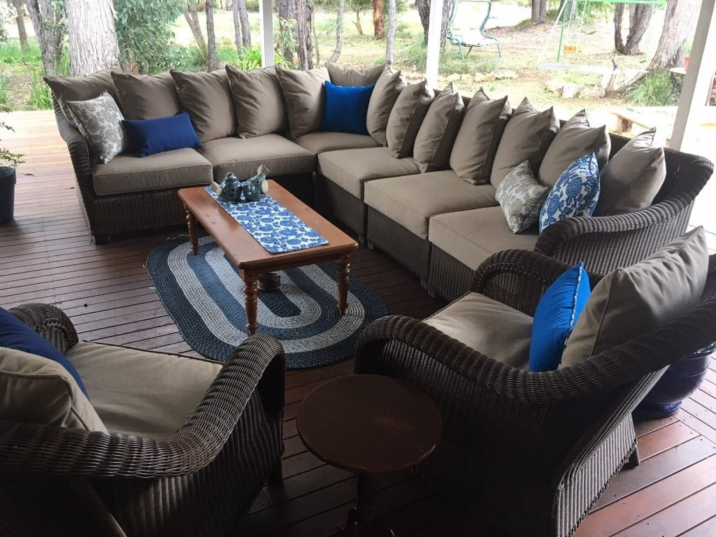 outdoor seat cushions Brisbane