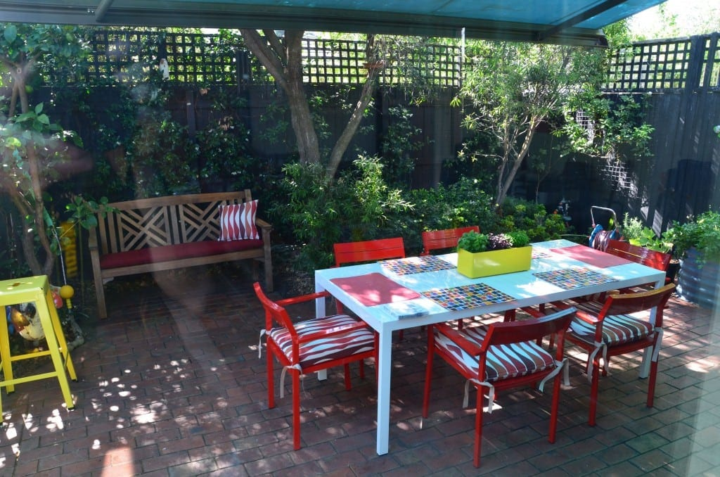 outdoor bench cushions northern beaches