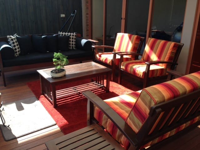 outdoor bench cushions b Brisbane