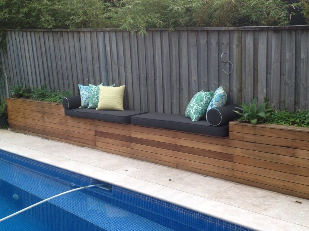 outdoor bench cushions Sydney