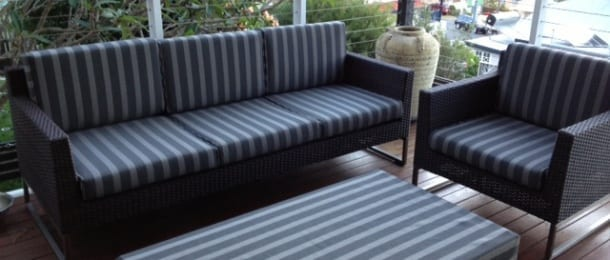 sunbrella outdoor cushions perth