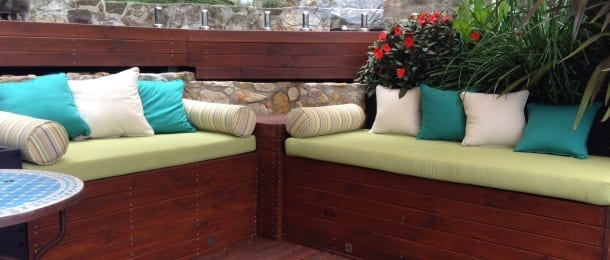 outdoor furniture cushions Brisbane