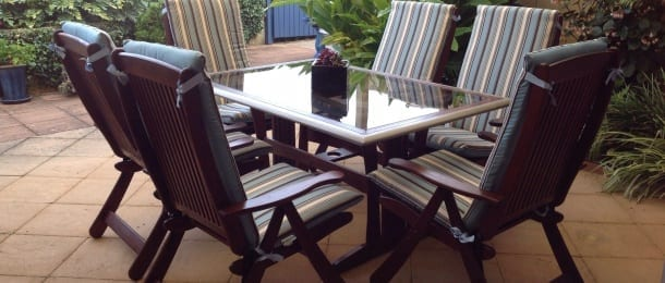 outdoor seat cushions Sydney
